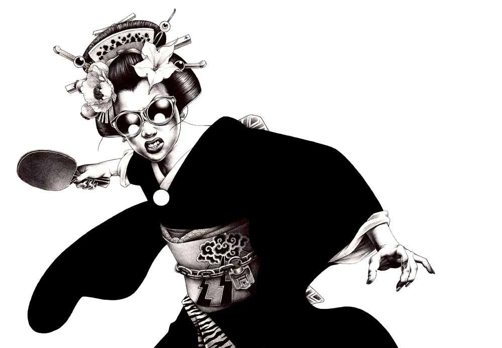 Geisha par Shohei Otomo