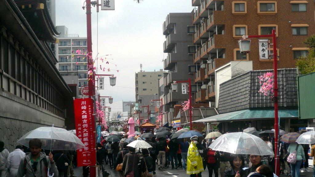 Joli défilé de parapluie