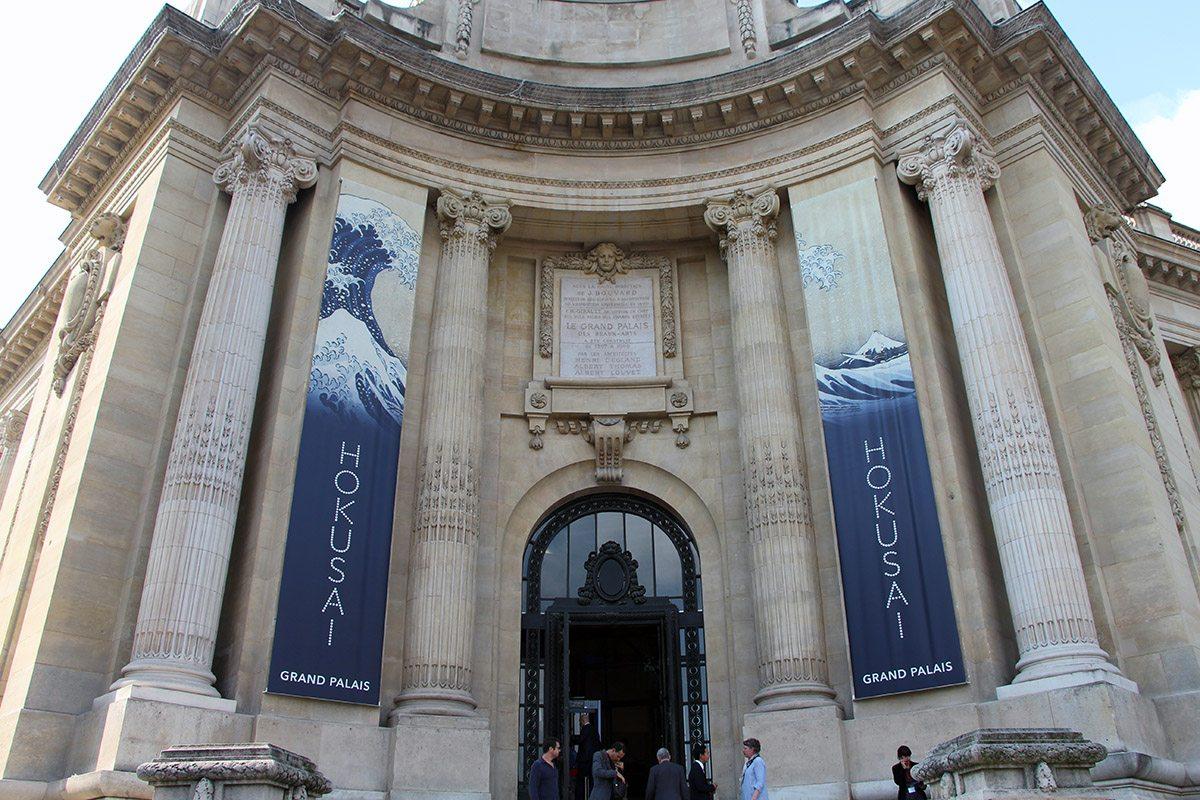 Hokusai au grand palais de paris l 39 exposition exceptionnelle dozodomo - Exposition grand palais paris ...