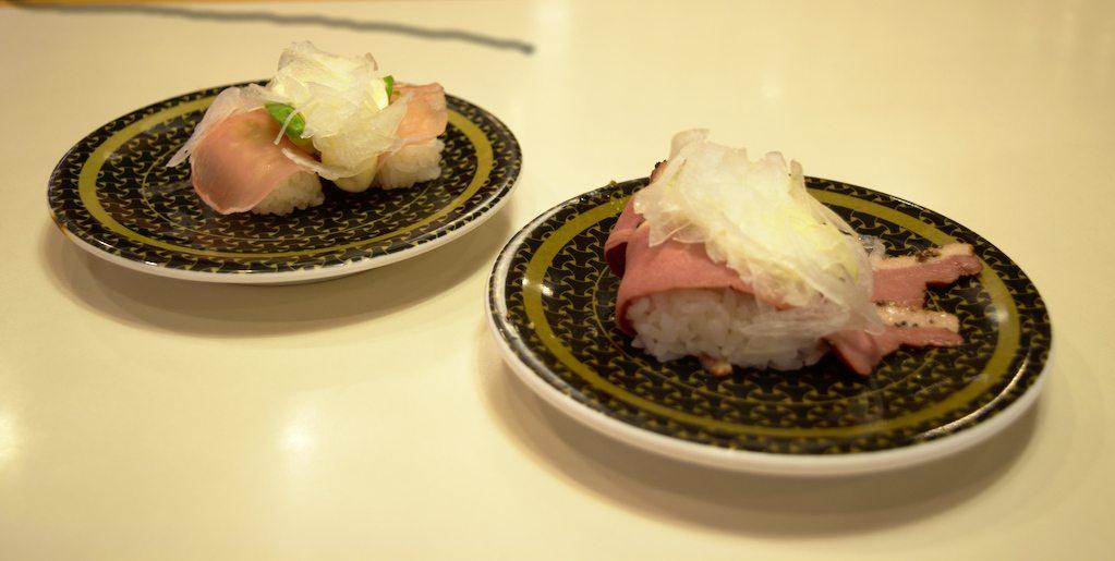 Des sushis, des vrais