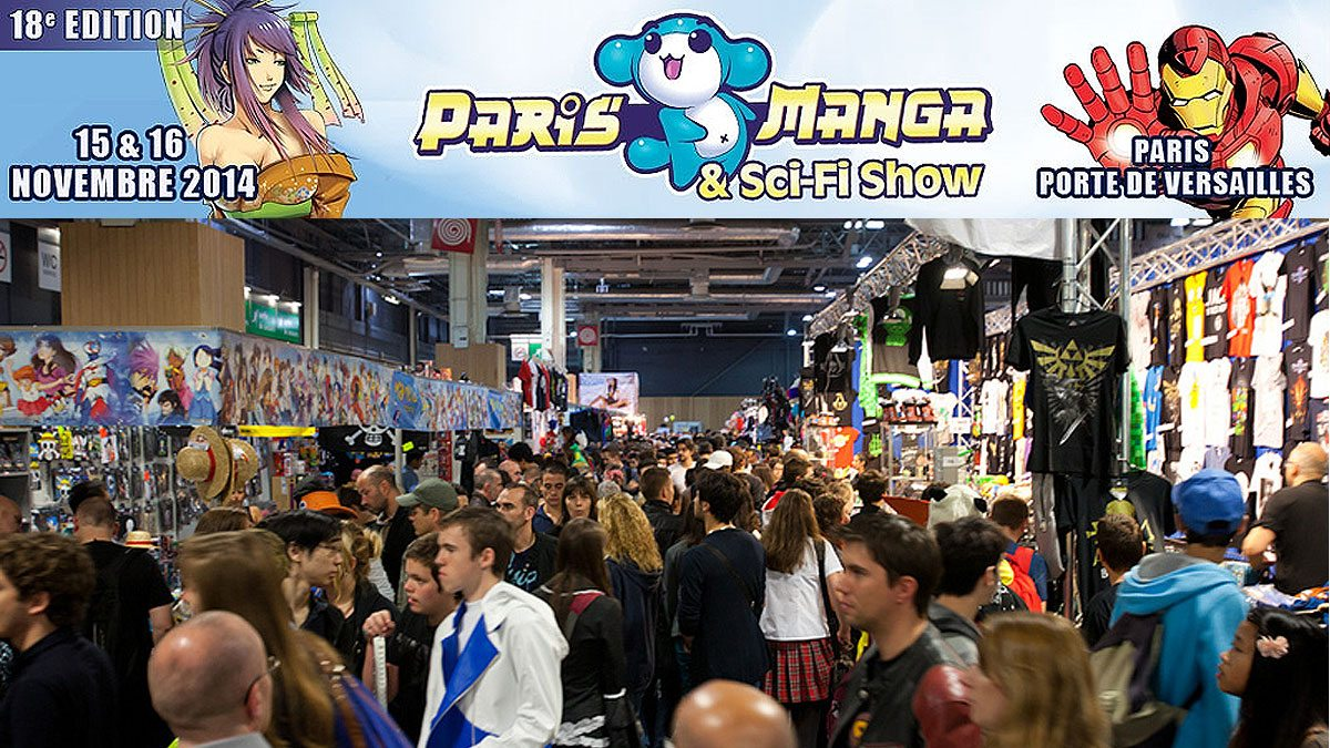 Paris manga et sci fi show 18e dition dozodomo for Salon du manga paris juillet
