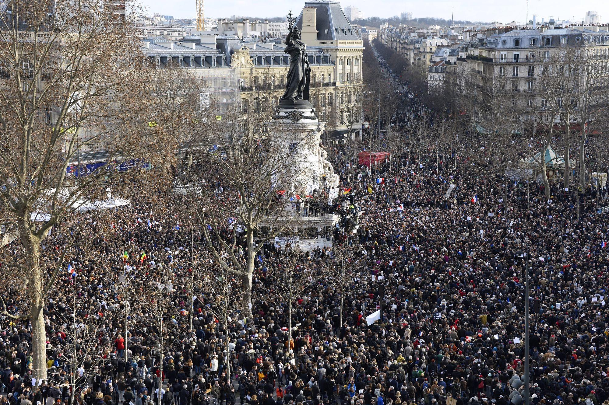 Rassemblement du 11 janvier 2015@L'Obs