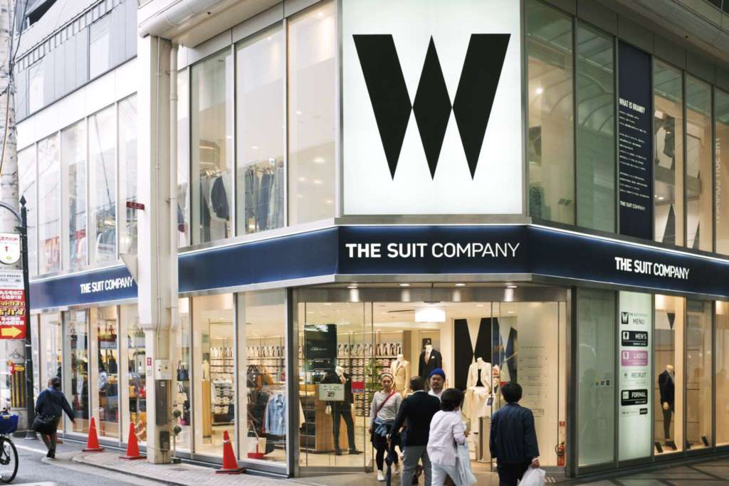 The suit company Japan