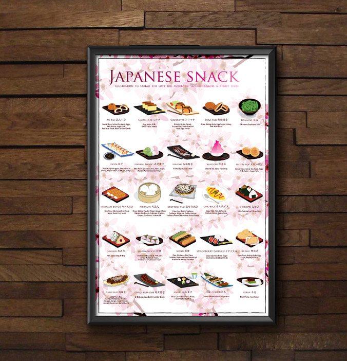 japanese snack poster fanny chu