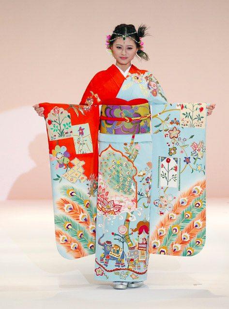 Kimono show Tokyo 2015-1