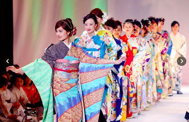Kimono show Tokyo 2015-3