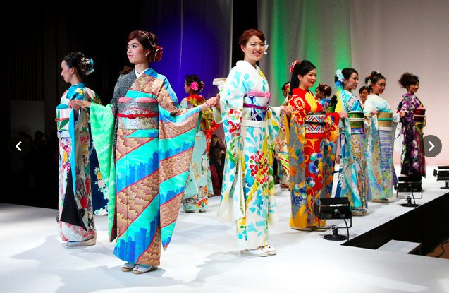 Kimono show Tokyo 2015-4