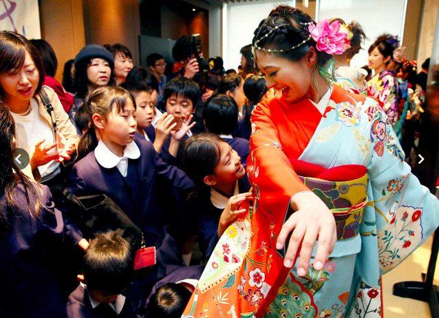 Kimono show Tokyo 2015