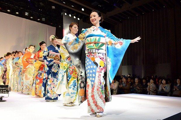 Kimono show Tokyo octobre 2015-1