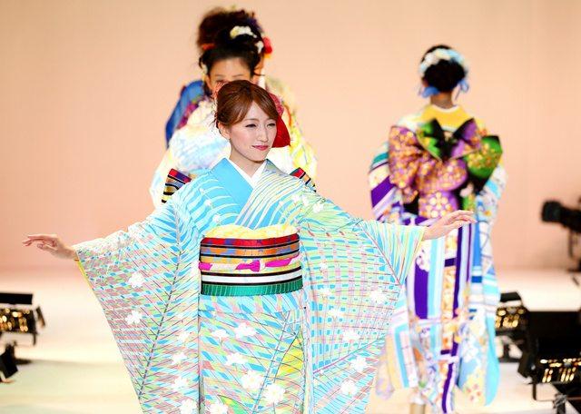 Kimono show Tokyo octobre 2015-2