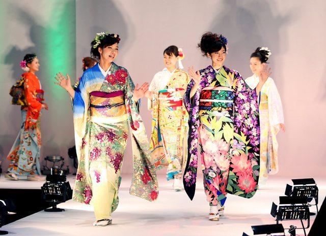 Kimono show Tokyo octobre 2015-3