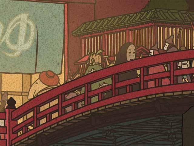 Ghibli ukiyoe 1