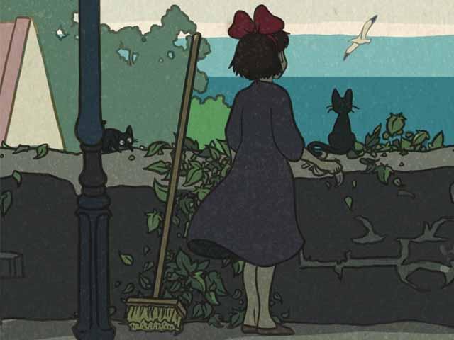 Ghibli ukiyoe 11