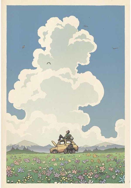 Ghibli ukiyoe 12