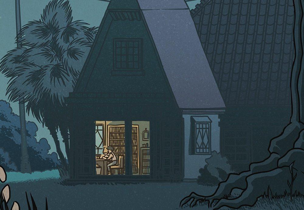 Ghibli ukiyoe 14
