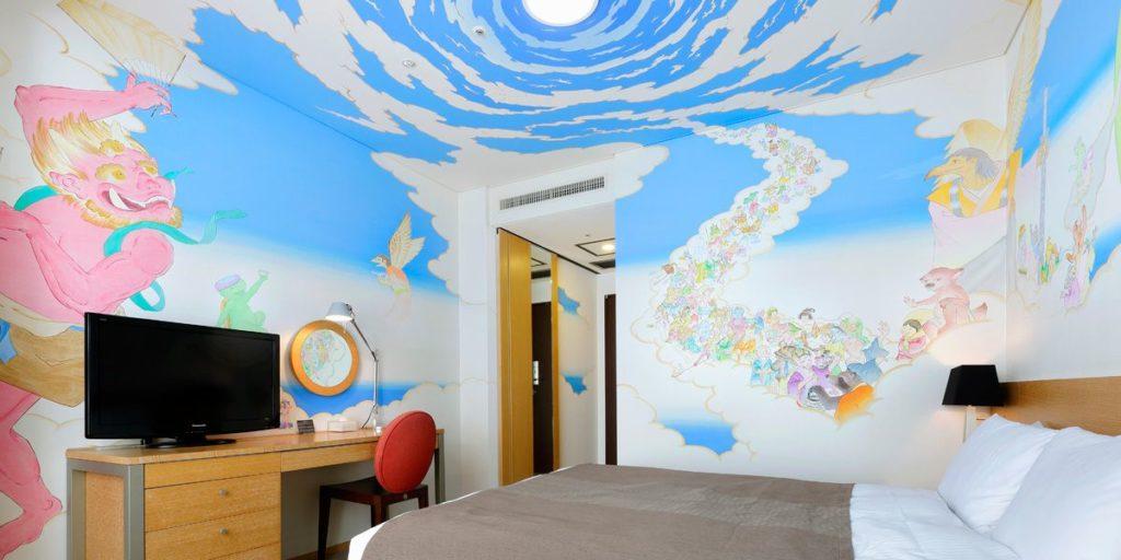 Park Hotel Tokyo art japonais