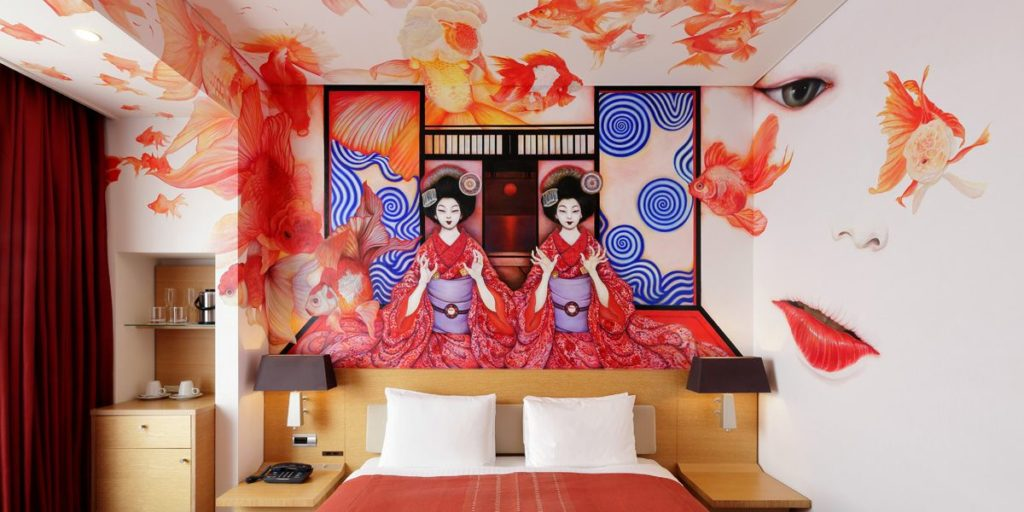 Park Hotel Tokyo art japonais 4