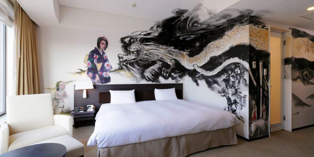 Park Hotel Tokyo art japonais 8