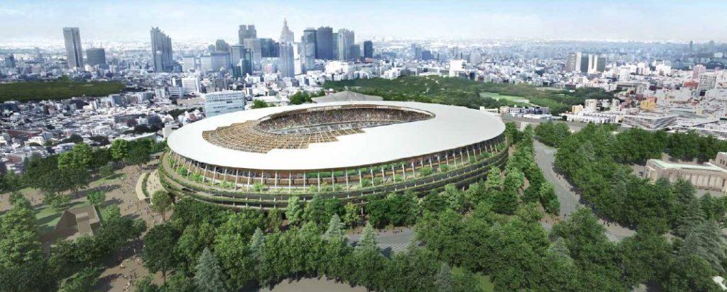 stade olympique tokyo 2020 projet