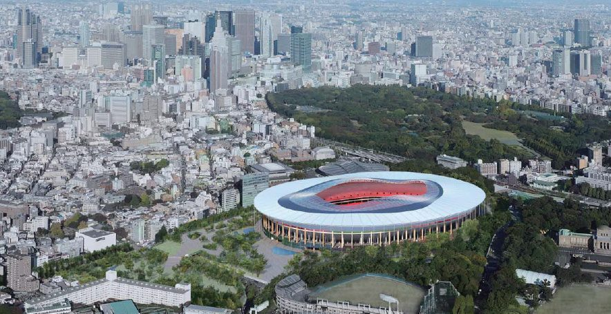stade olympique tokyo 2020 projet 5
