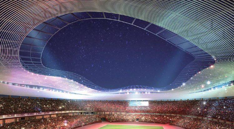 stade olympique tokyo 2020 projet 8