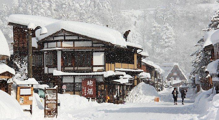 Le Japon Encore Plus Beau Sous La Neige Dozodomo