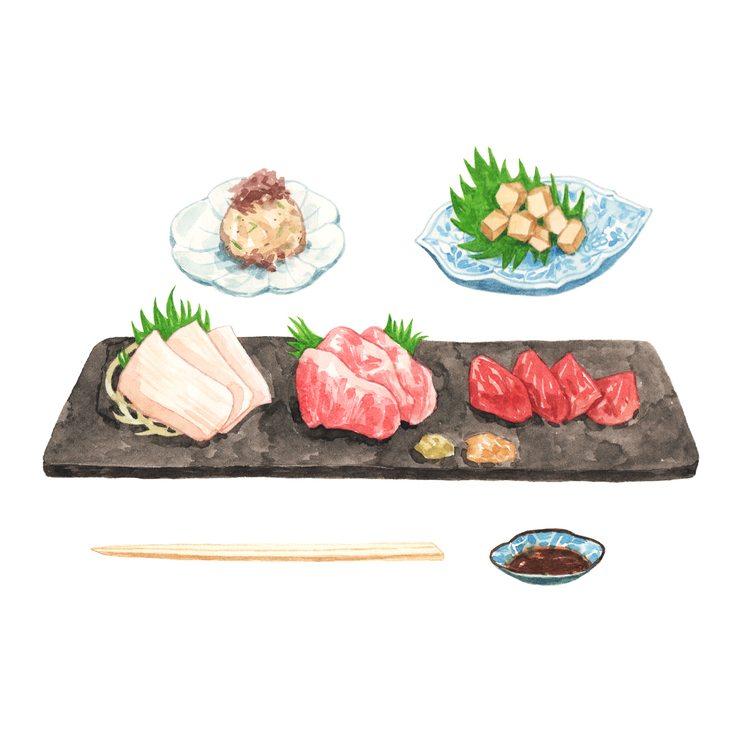 Basashi Horse Meat