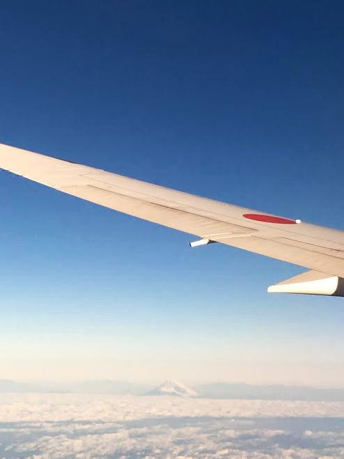 fuji plane japan