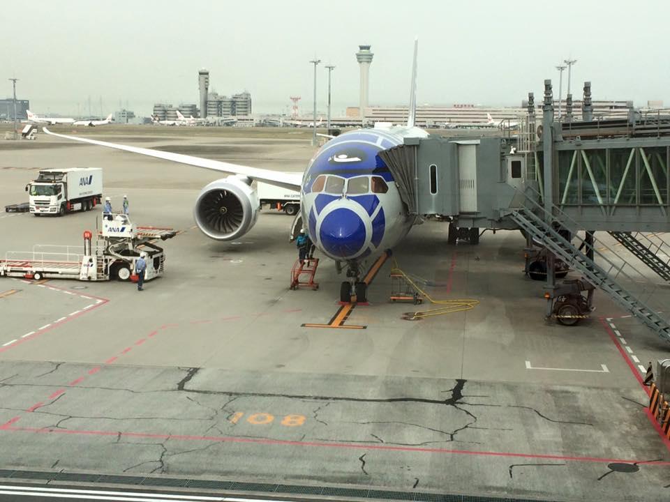 ANA Star wars boeing avion_1