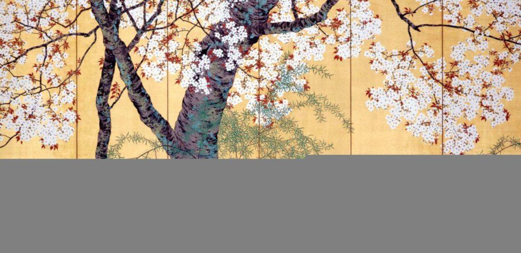 estampe japonaise cerisiers en fleurs_32