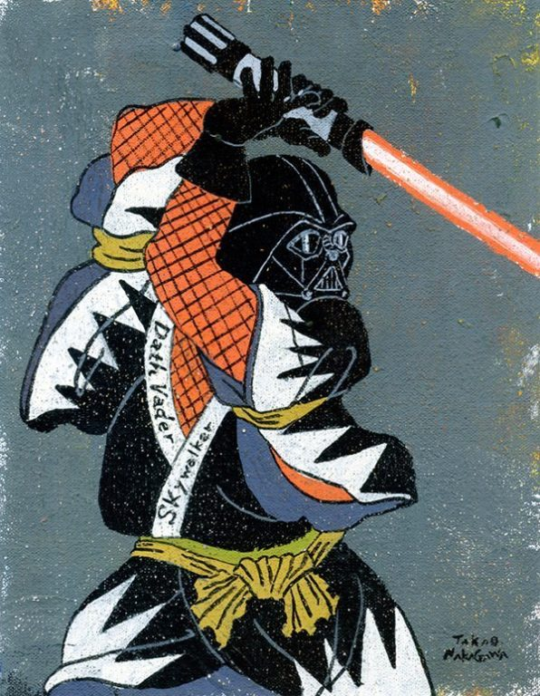 Ukiyo-e mario marvel star wars_10