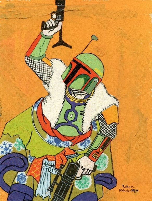 Ukiyo-e mario marvel star wars_11