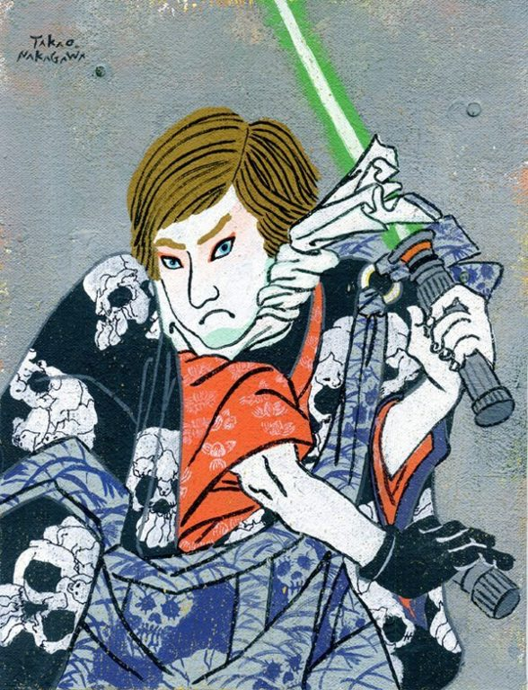 Ukiyo-e mario marvel star wars_12