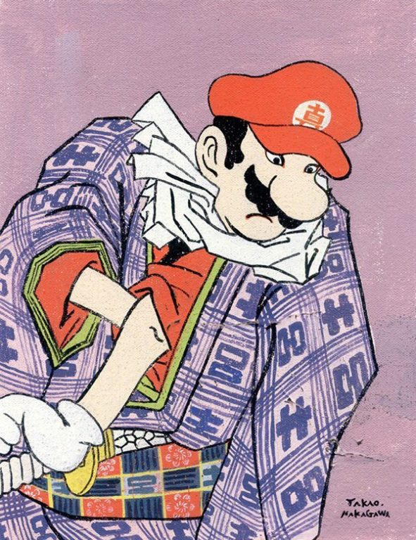 Ukiyo-e mario marvel star wars_2