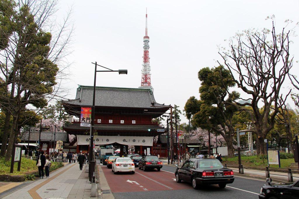 Zojo-ji Tokyo Sakura 2016_5