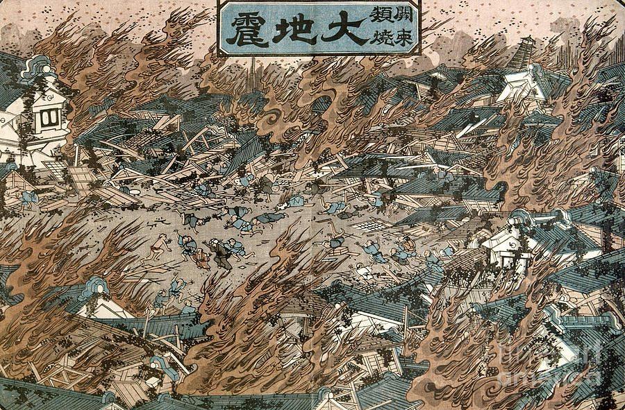 estampe japonaise tremblement de terre_3