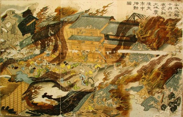 estampe japonaise tremblement de terre_4