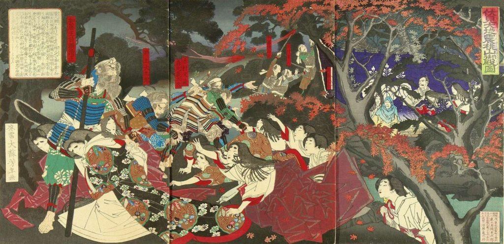 estampe japonaise tremblement de terre_5