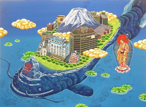 namazu Takemikazuchi estampe japonaise tremblement de terre