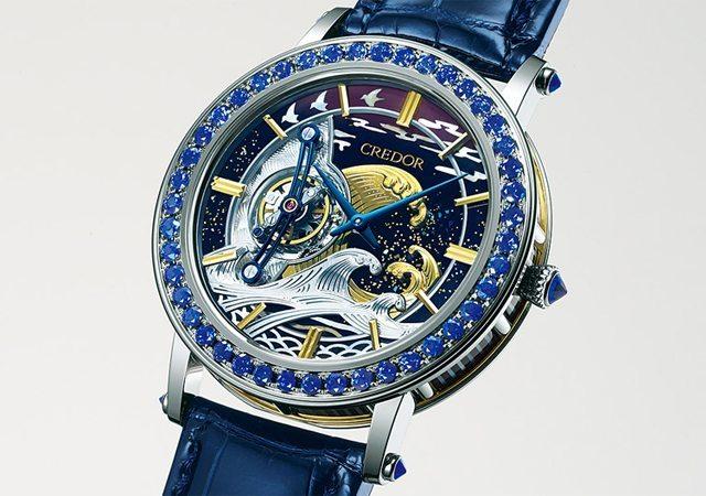avec cette montre estampe la marque japonaise seiko tutoie les sommets du luxe dozodomo. Black Bedroom Furniture Sets. Home Design Ideas
