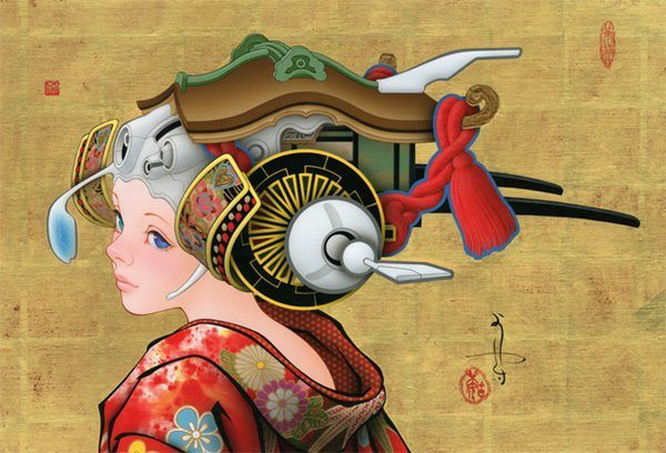 art moderne traditionnel japon_4