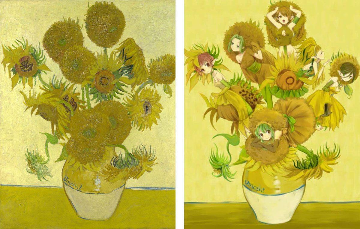tournesols-Van-Gogh