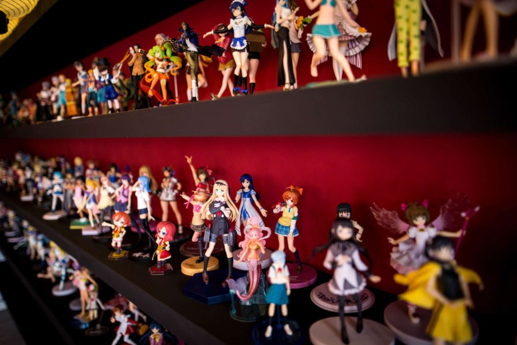 "memorial services for ""deceased"" anime figures"