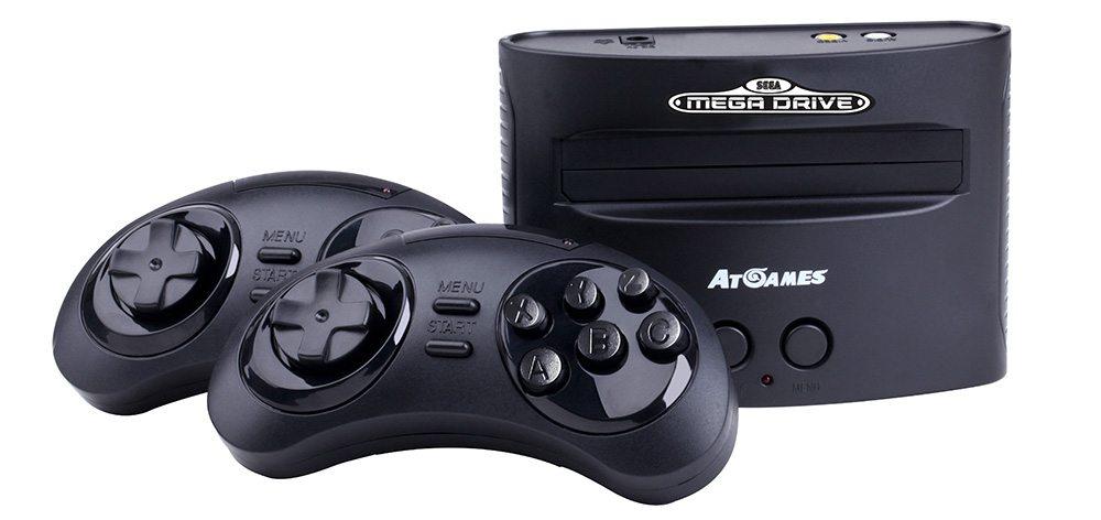 Mega-Drive-Console