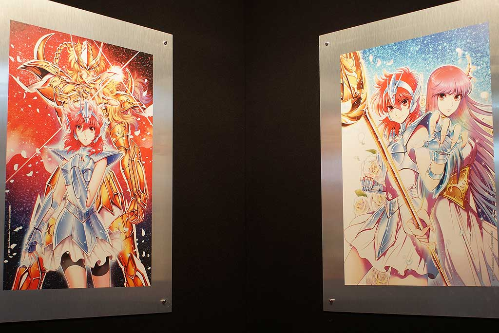 Exposition Saint Seiya à Japan Expo 2016 @ Dozodomo