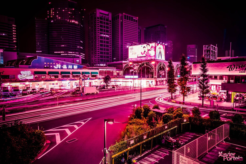 Tokyo's glow xavier portela rose_1
