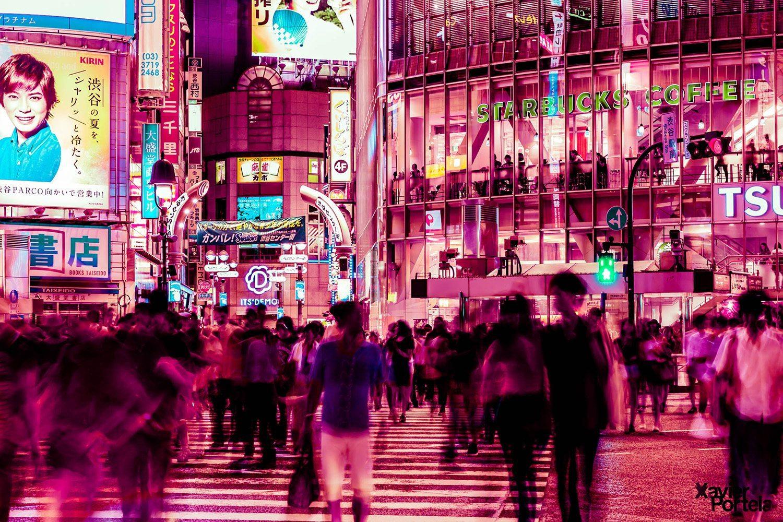 Tokyo's glow xavier portela rose_2