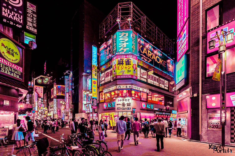 Tokyo's glow xavier portela rose_5