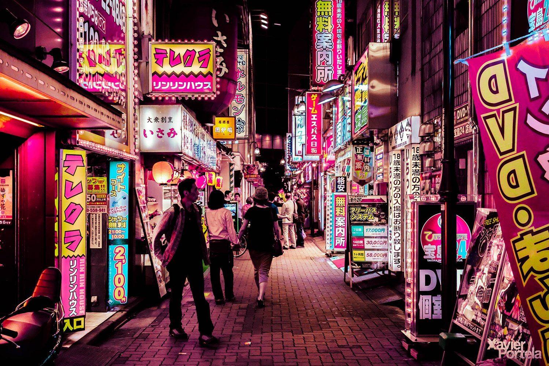 Tokyo's glow xavier portela rose_6