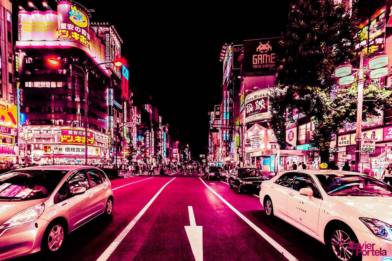 Tokyo's glow xavier portela rose_8